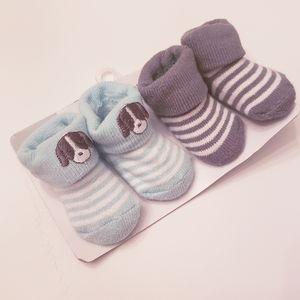 NWT Carter's Baby Boy Booties/ Socks
